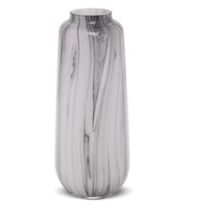 Wazon szklany marmur