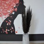 Trawa pampasowa suszona czarna 4